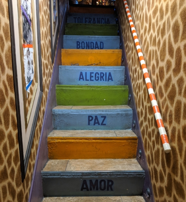 Stairs in Madrid
