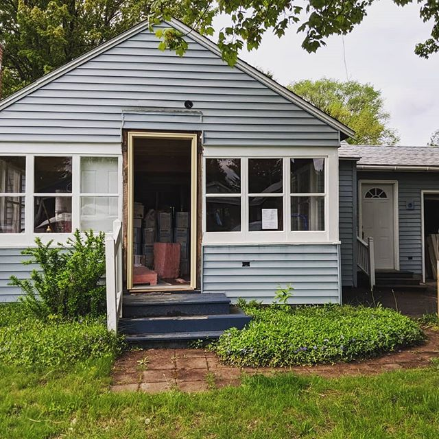 Perhaps the largest #personaldevelopment #project I've ever attempted, here are before and after shots (thus far!) of my northern #michigan #cottage #renovation.  Many, many thanks to family and friends for physical and moral support.  And @dvacaguzman, I coouldn't have done it without you 😊🥵🥶🤯❤️ #dreamsdocometrue #visionboard #homerenovation #selfcare #cottage #retreat #totaltransformation #homeimprovement #puremichigan #laboroflove #attitudeofgratitude #bloodsweattears