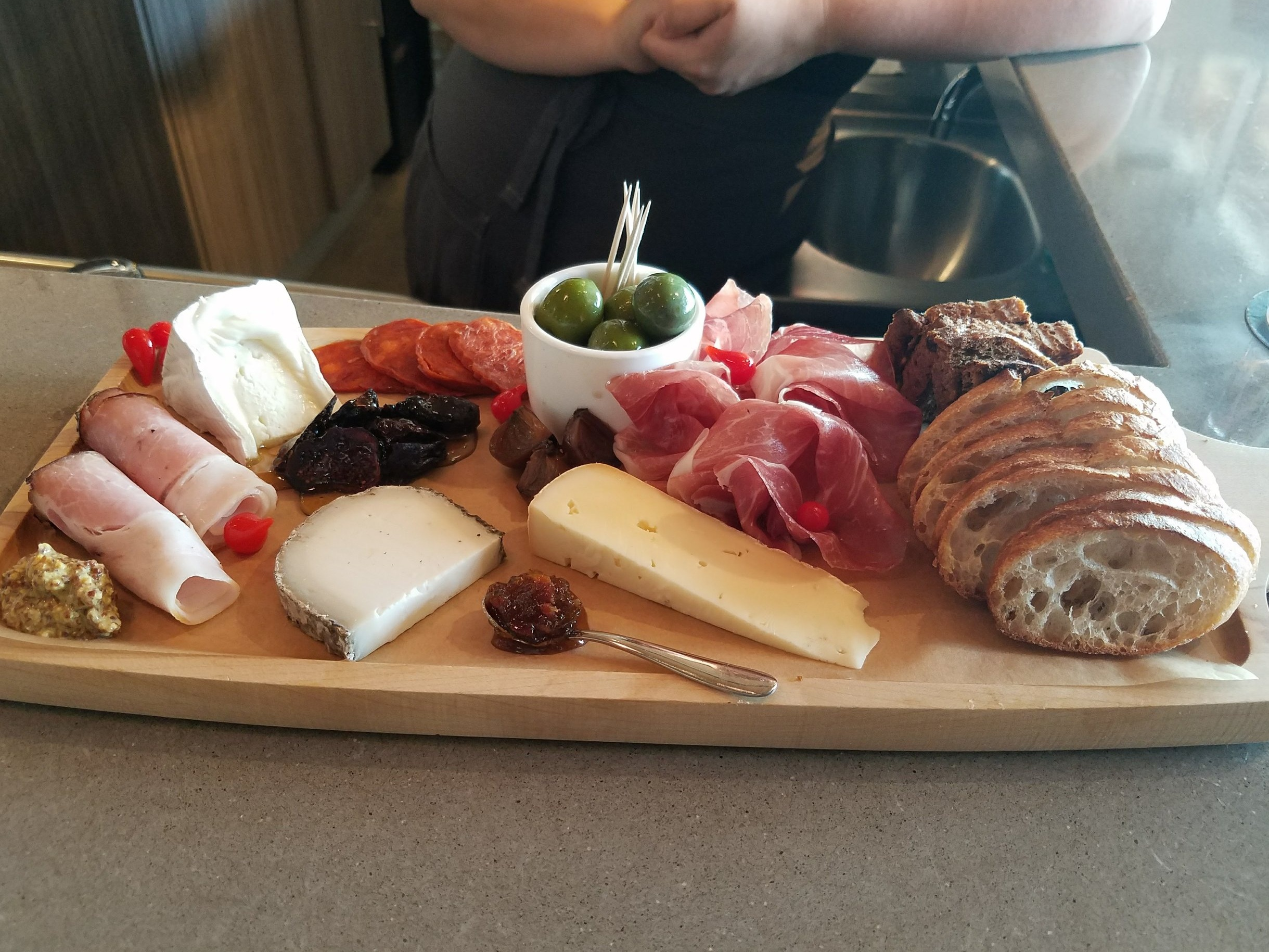 Spanish tapas board