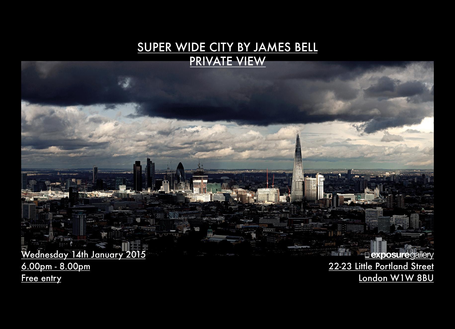 Super Wide City Exhibition 2015