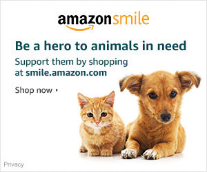 Your shopping makes a difference. Do your regular Amazon shopping at    smile.amazon.com/ch/81-5414581    and Amazon donates to Yoga4Cats.