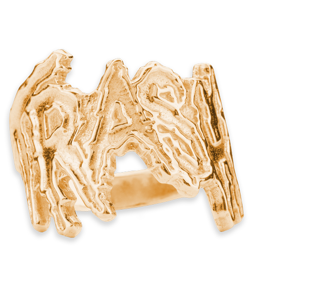 Trash Ring Gold