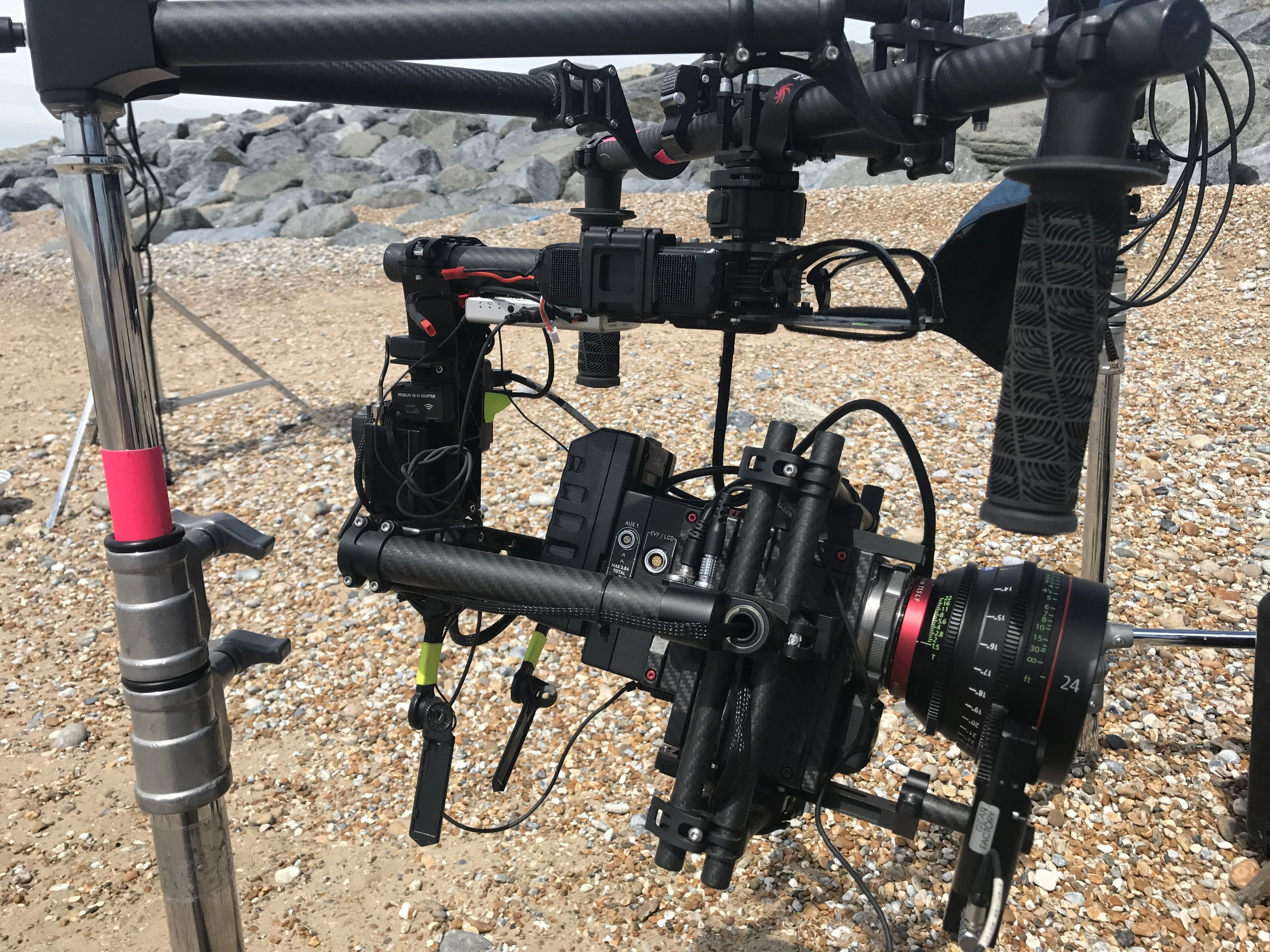 gimbal filming UK