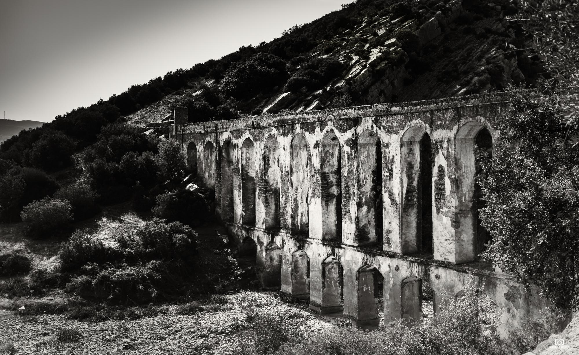 Aquaduct nabij Moulay idris