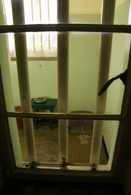 Misschien wel de beroemdste cel, Robbeneiland