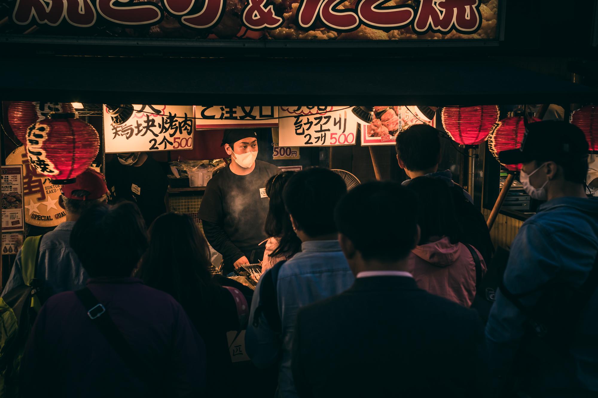 Kobe beef streetfood