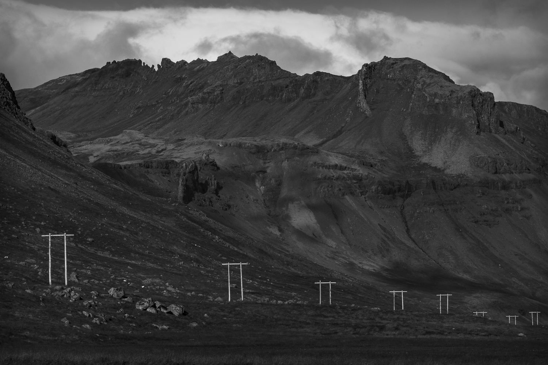 Het landschap van Snaefellsnes