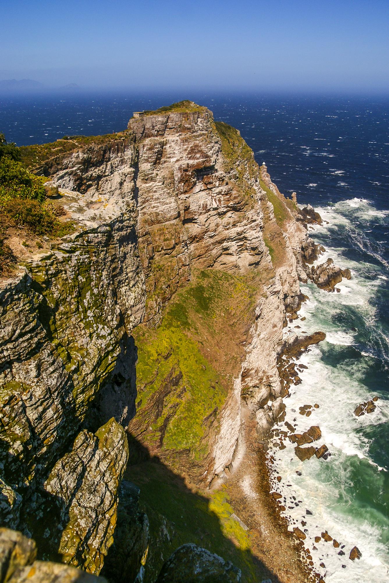 De zuidkaap van Zuid Afrika