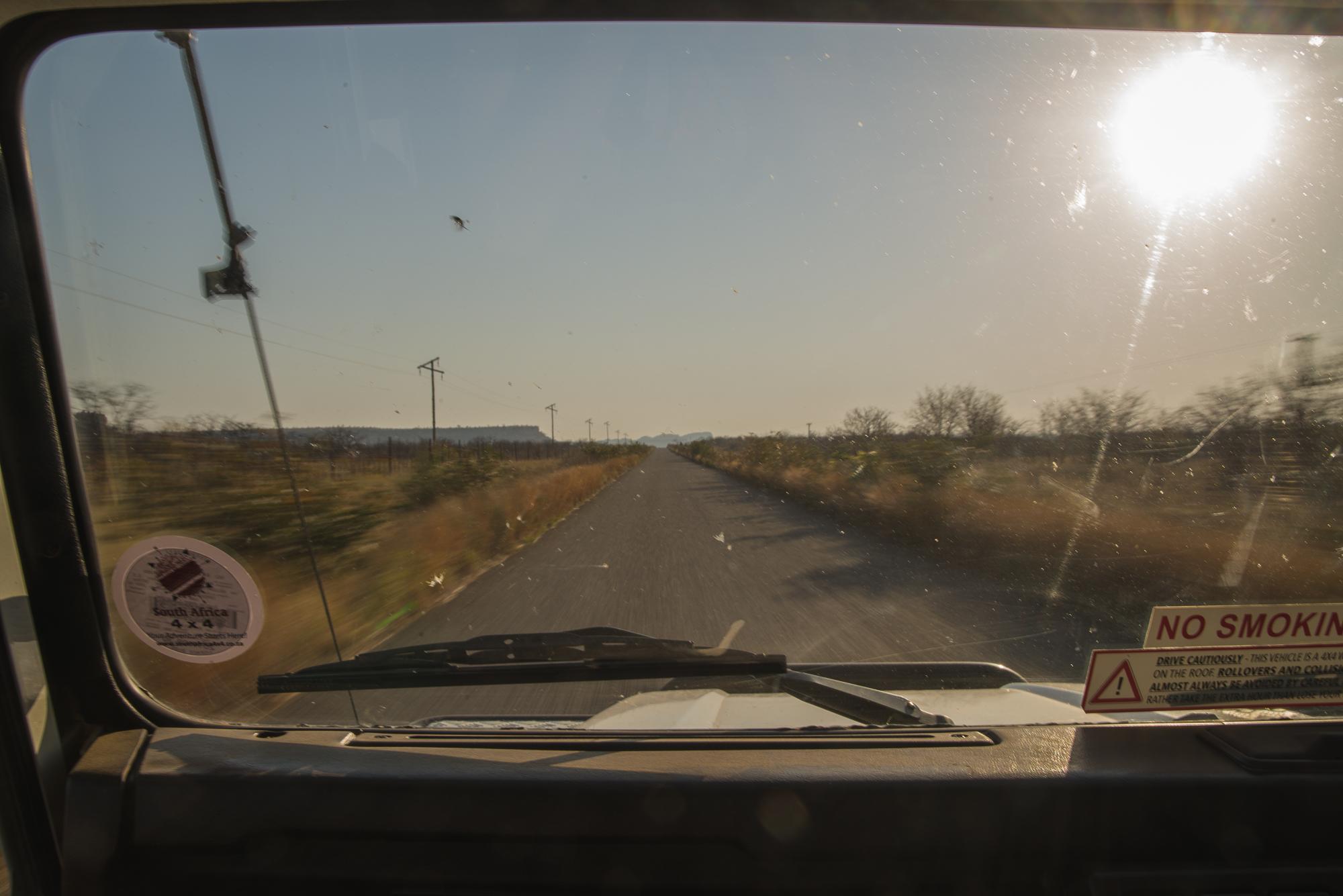 Onderweg naar de volgende bestemming