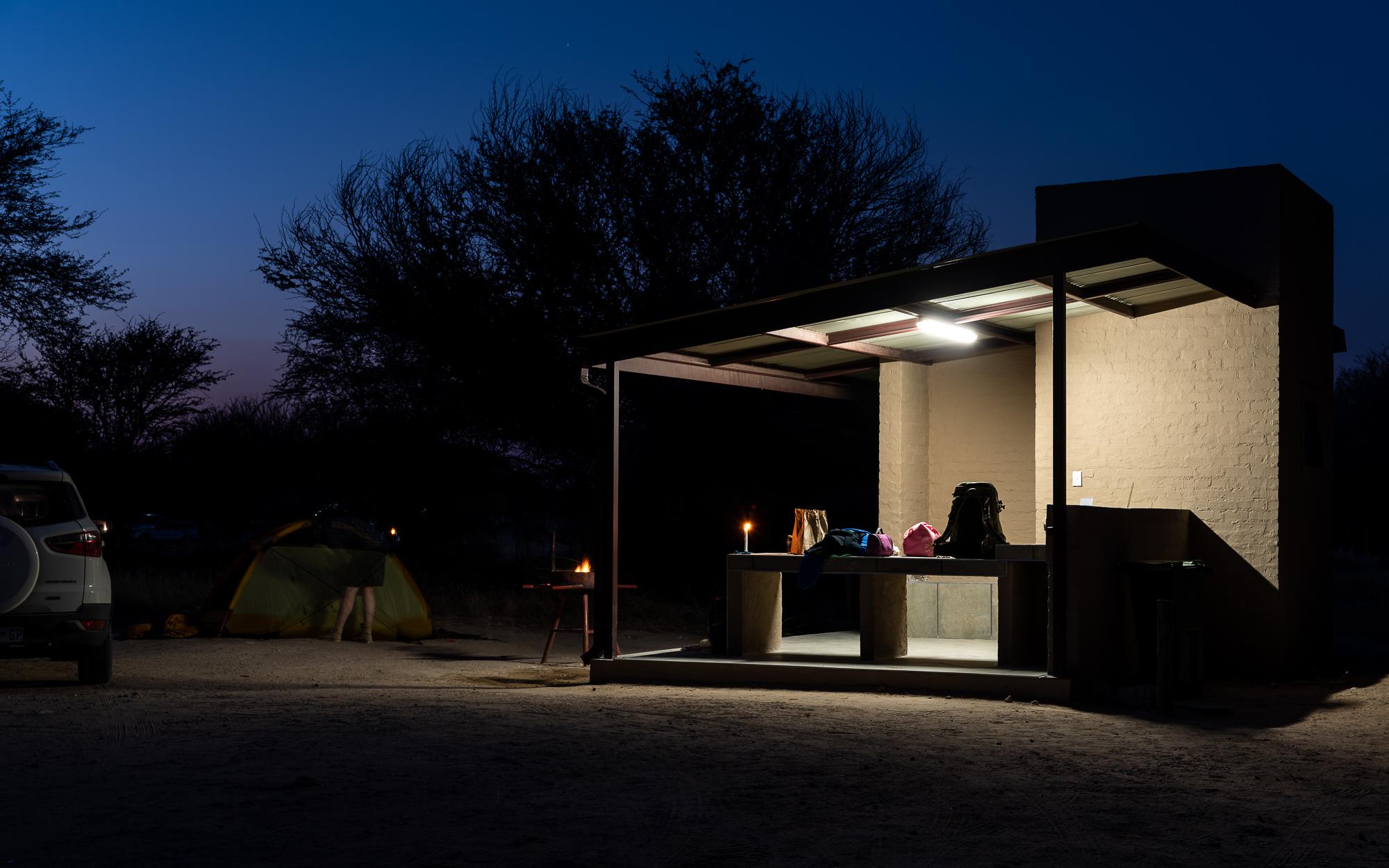 Luxe campeerplaats in Nossob