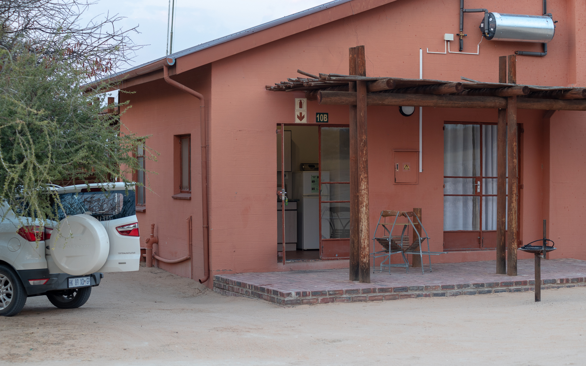 Chalet in Nossob, Kgalagadi.