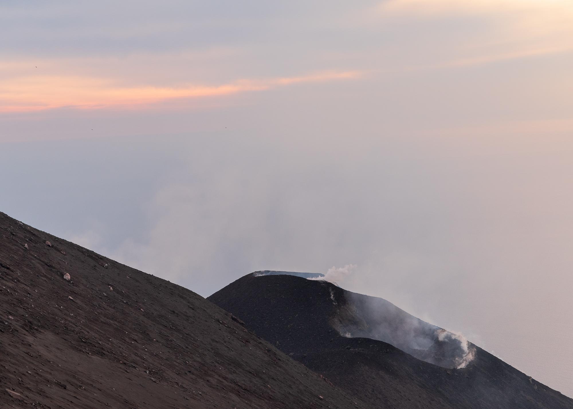 Je eerste blik op de krater