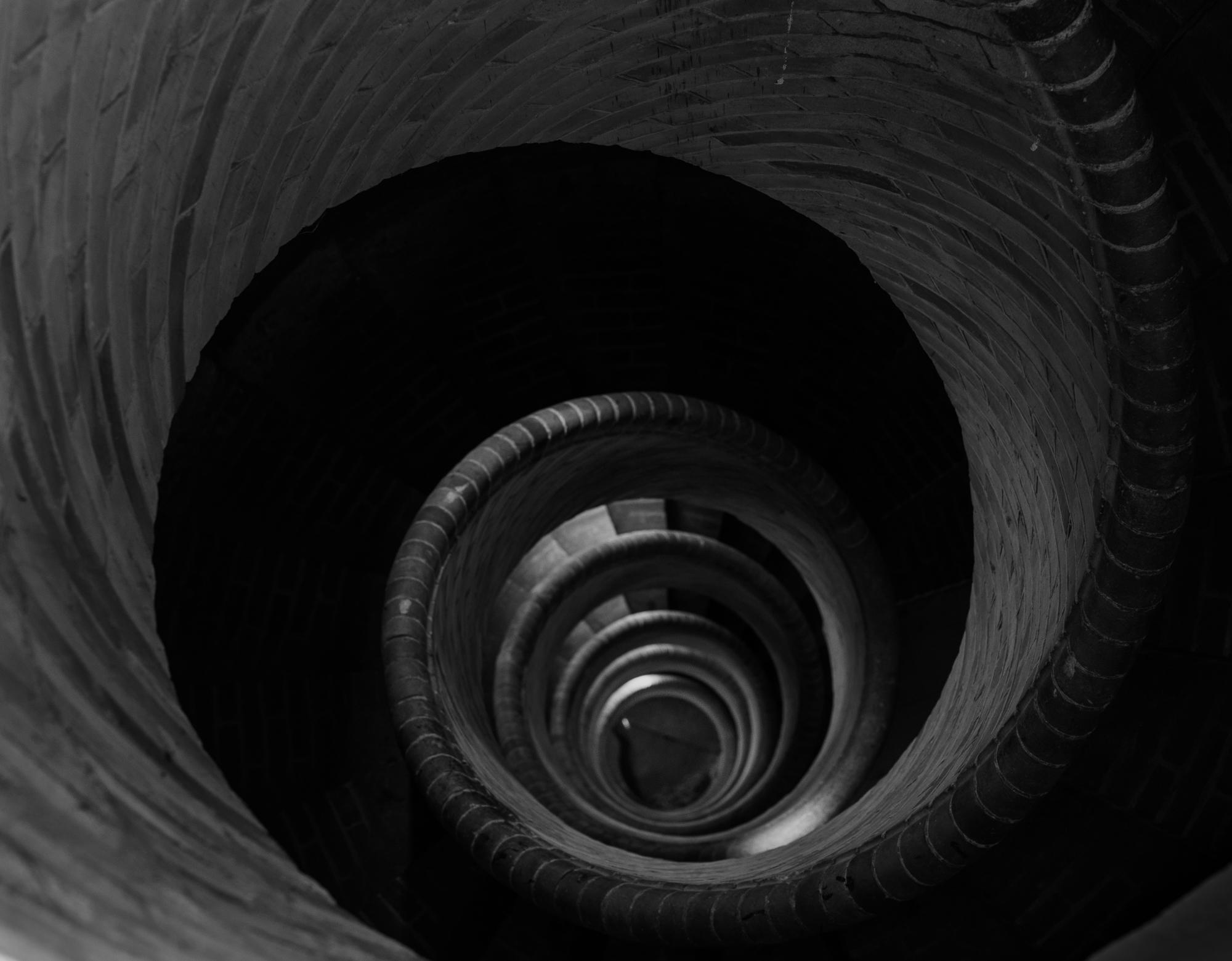 De trap naar de koepel