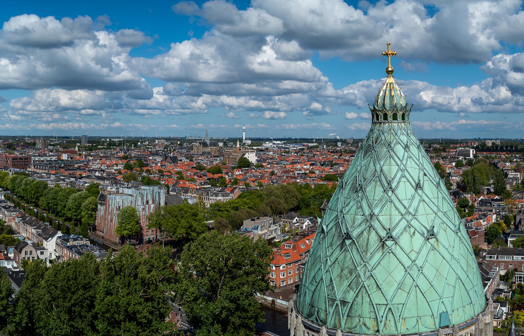 Panorama van Haarlem