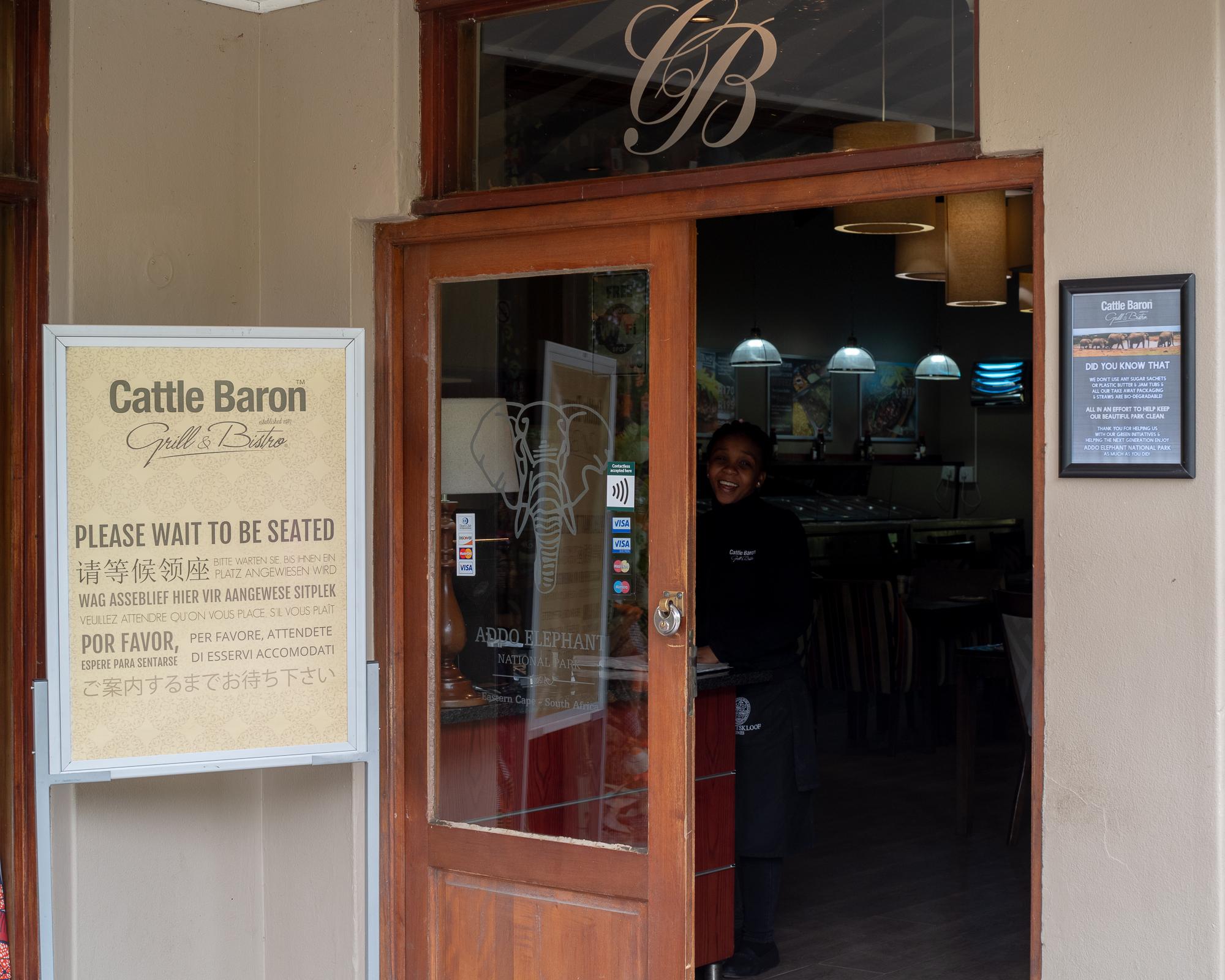 Er is ook een restaurant, met wifi!