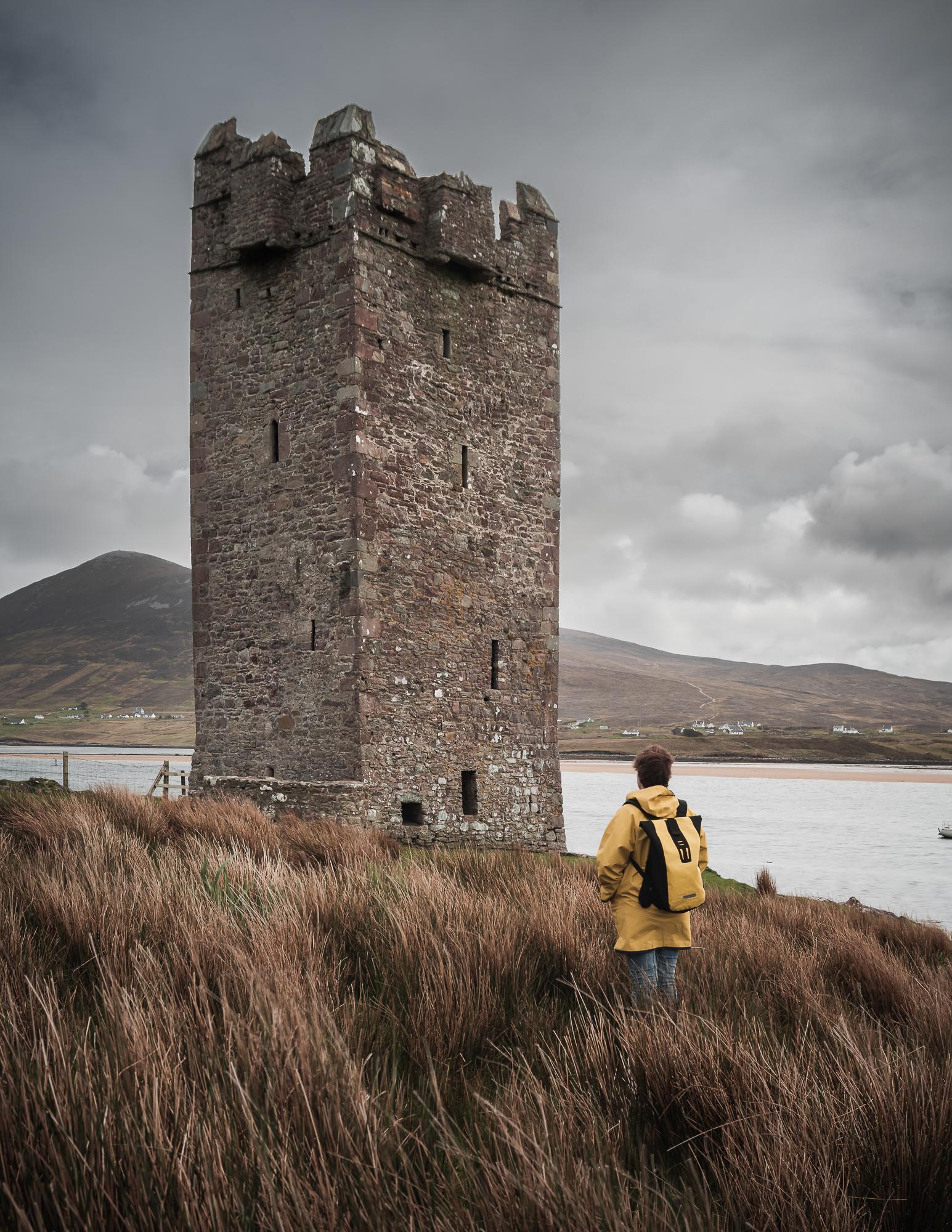 Grace O' Malley's kasteel aanschouwen