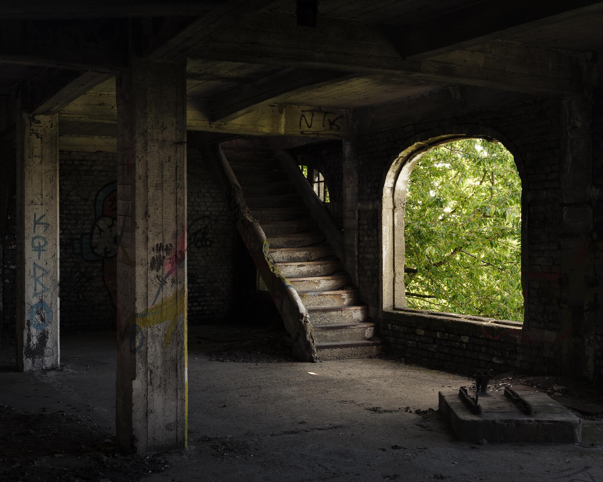 Trap naar boven
