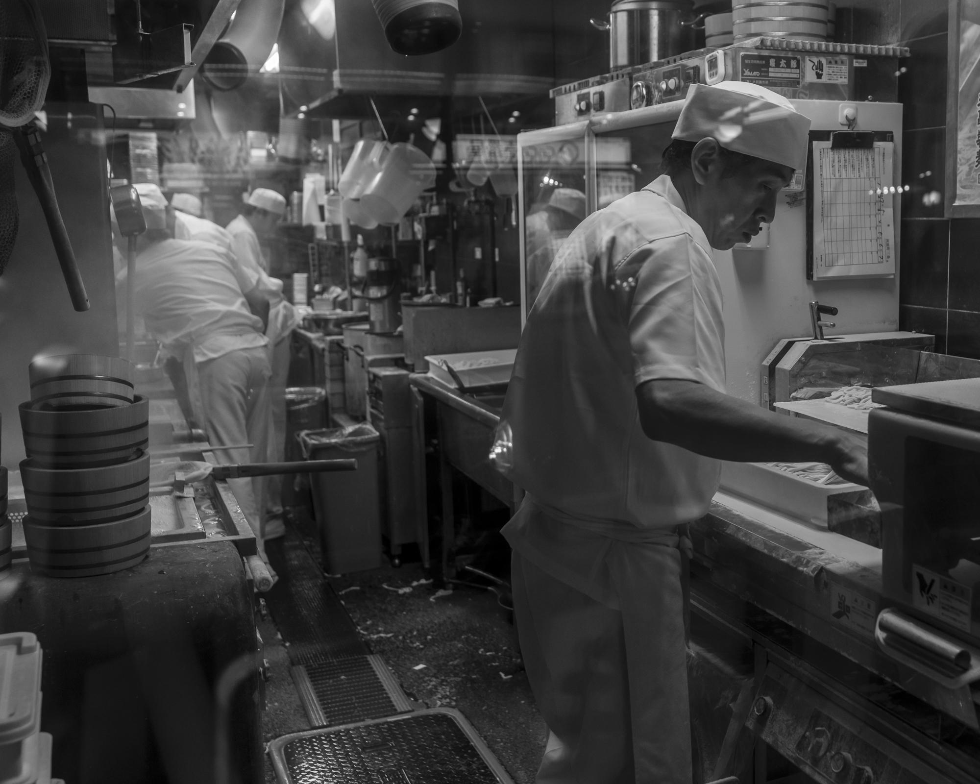 Handgemaakte noodles