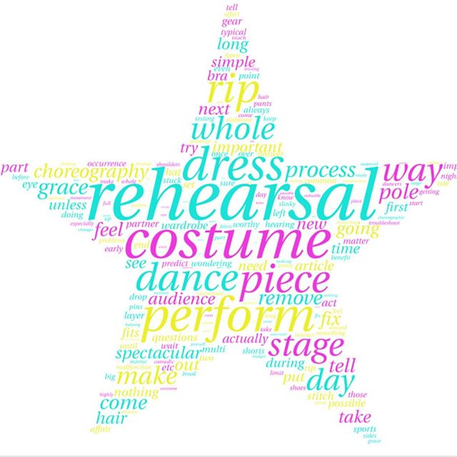 Today is the Mandatory dress rehearsal! Show #1 rehearsal is at 1:00 and Show #2 is at 4:30 at The Egg! Don't forget your costumes,tights and hair pulled back! See everyone soon!