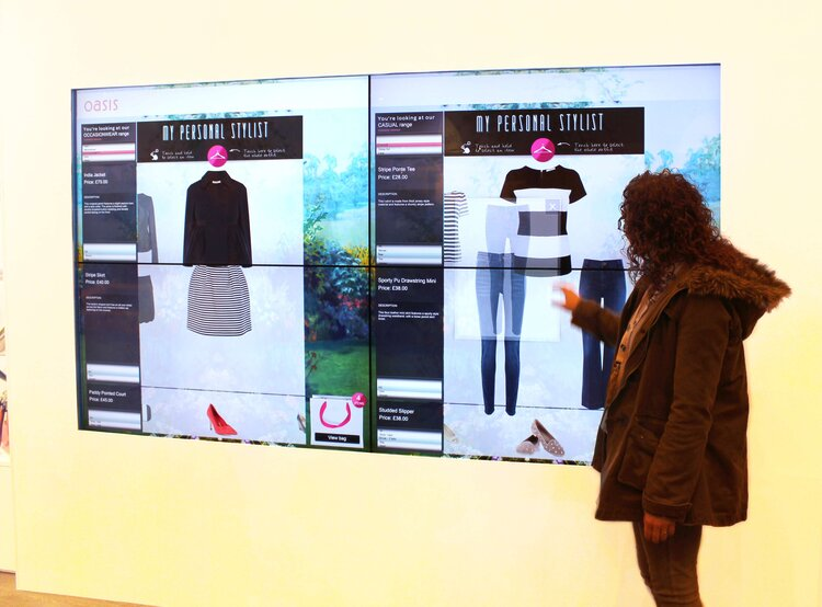 Interactive Shopping Experience