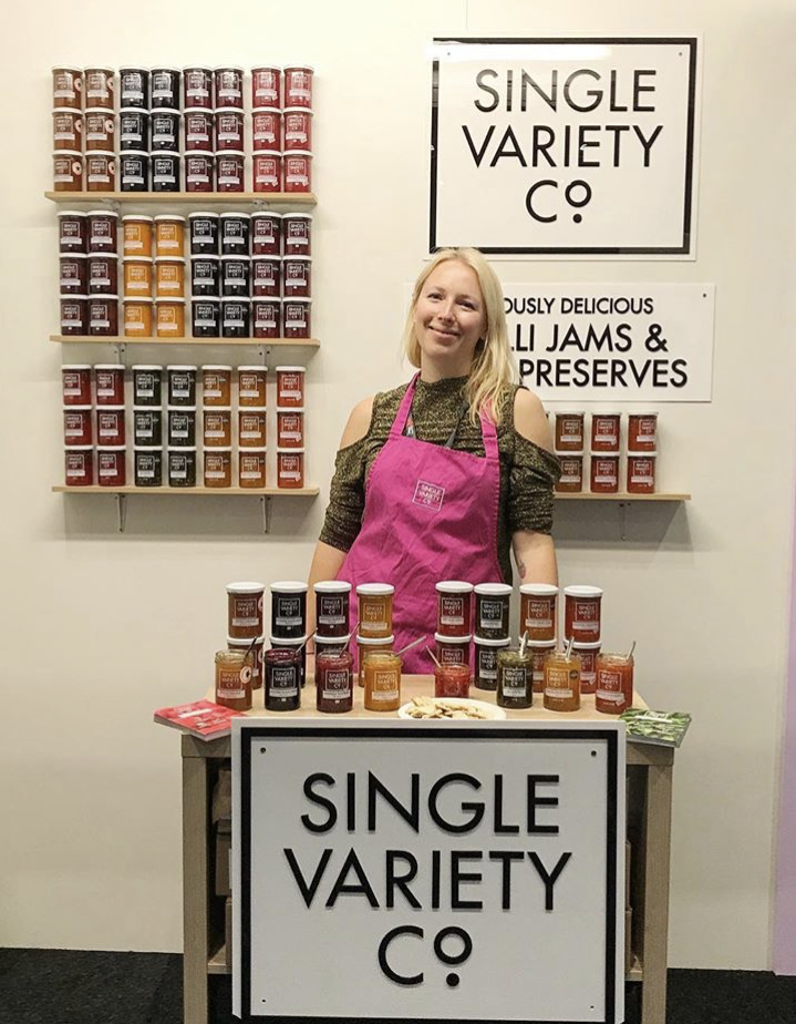 Nicola at the IFE trade show in March 2019