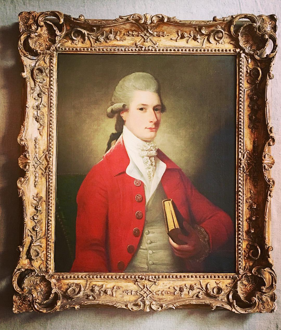 Portrait of an 18th-century gentleman by David Martin, £9,250 (now sold)