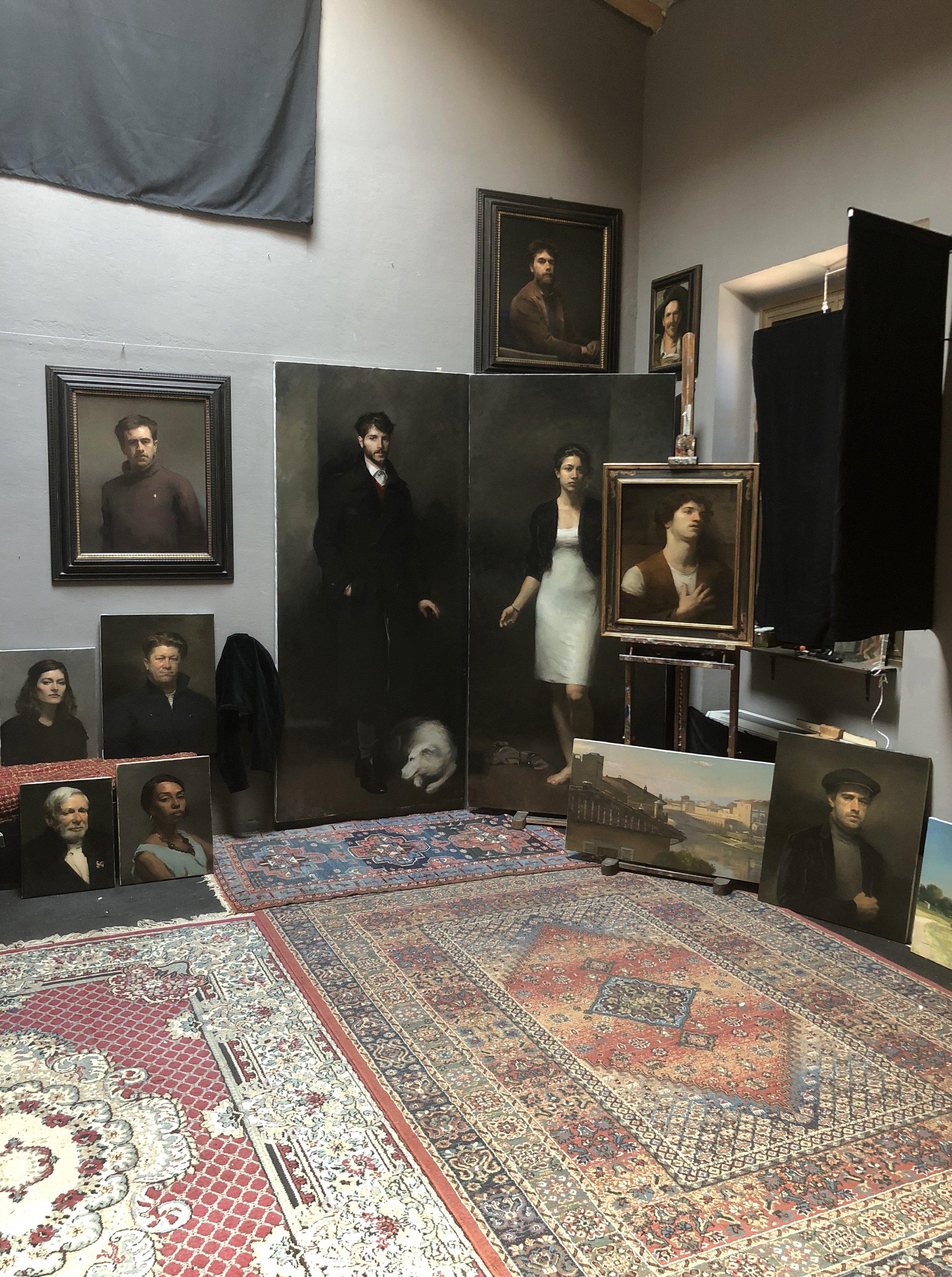 Tom Richards Studio.