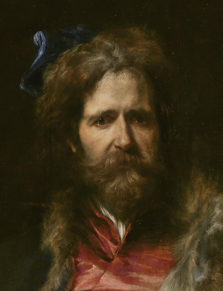 Martin Ryckaerts by Van Dyck (detail)