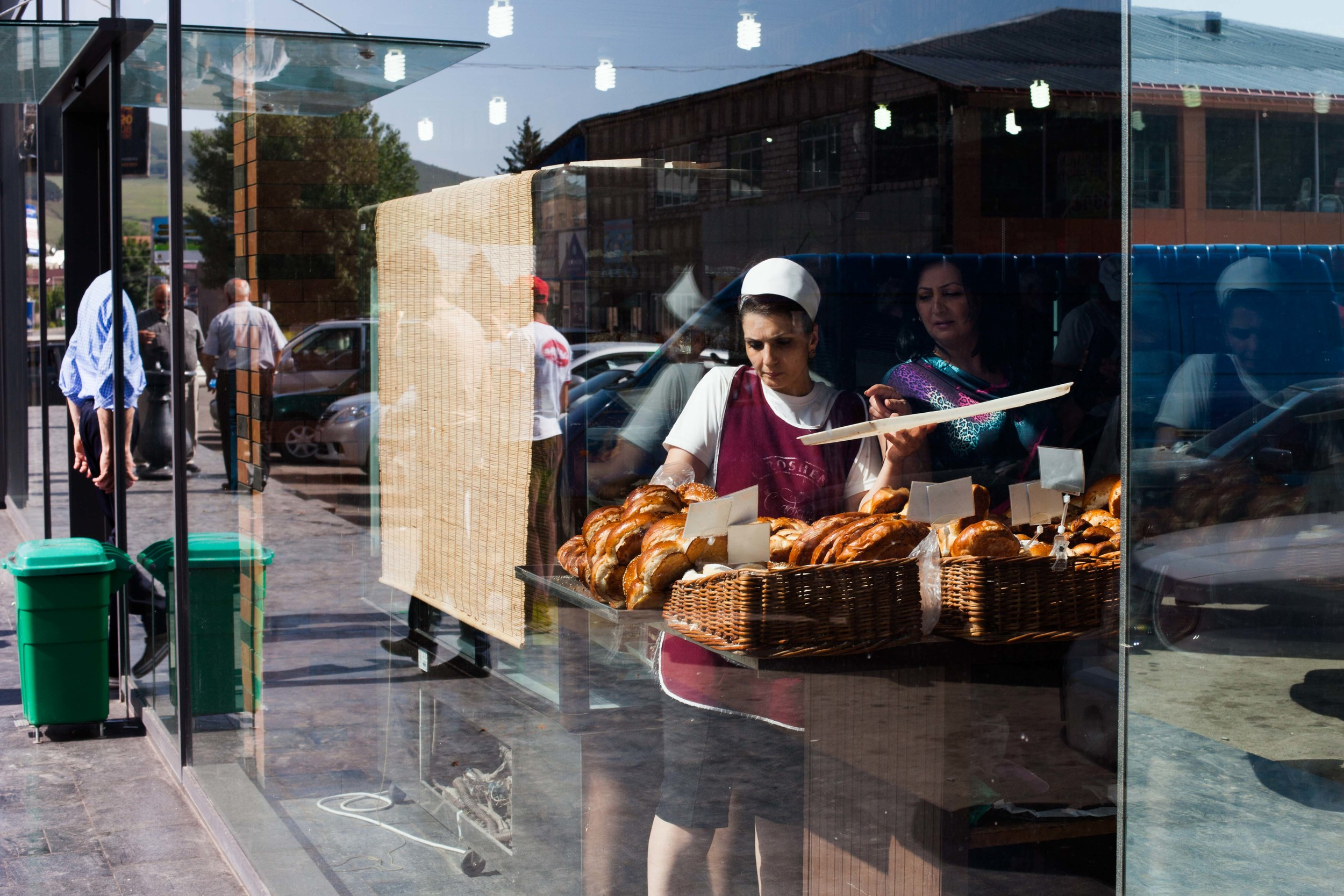 On a daily basis, bakeries provide people with their fresh bread, a staple at every meal.