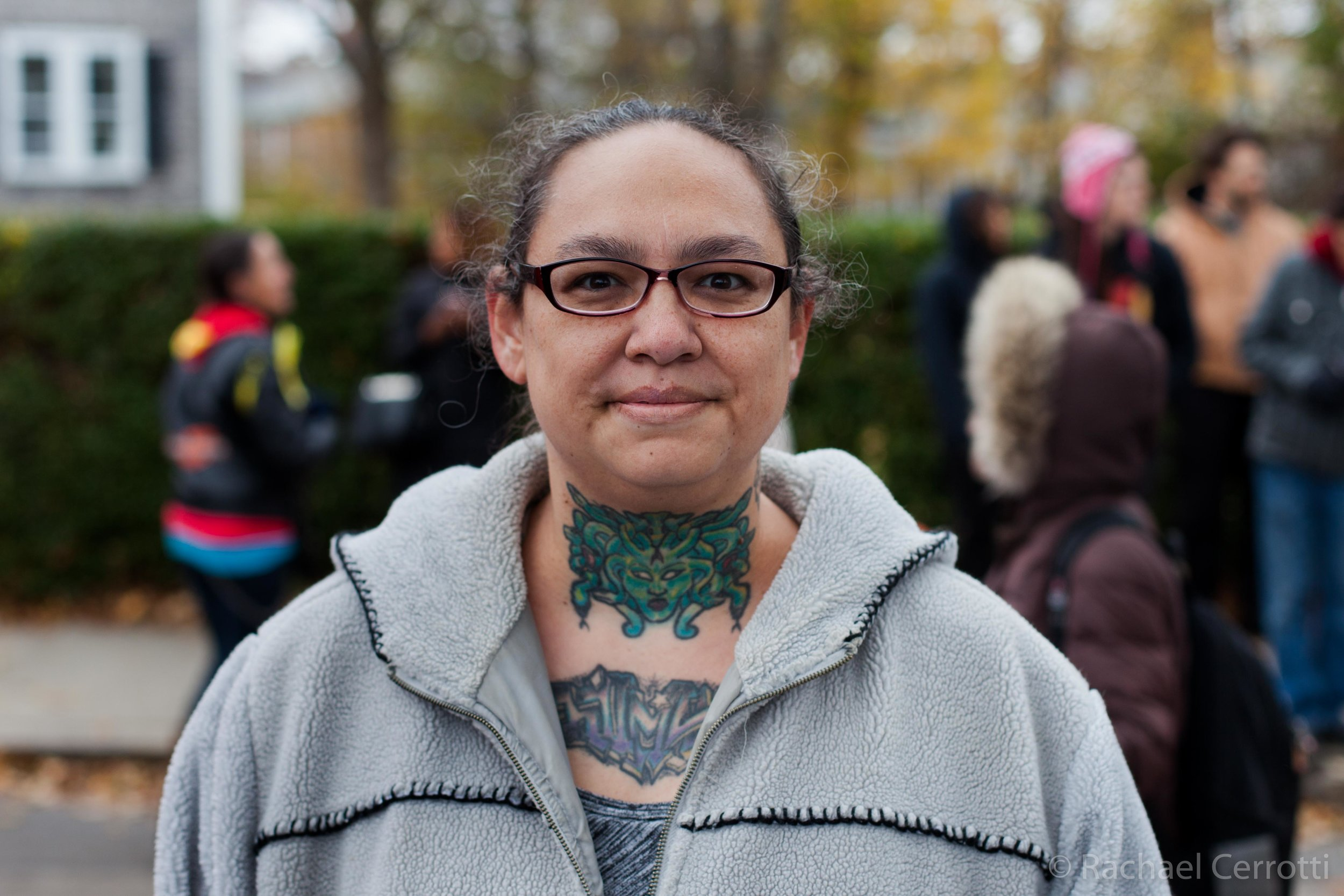 Melody O'Brian of Newport, Rhode Island, comes from Cherokee nation.