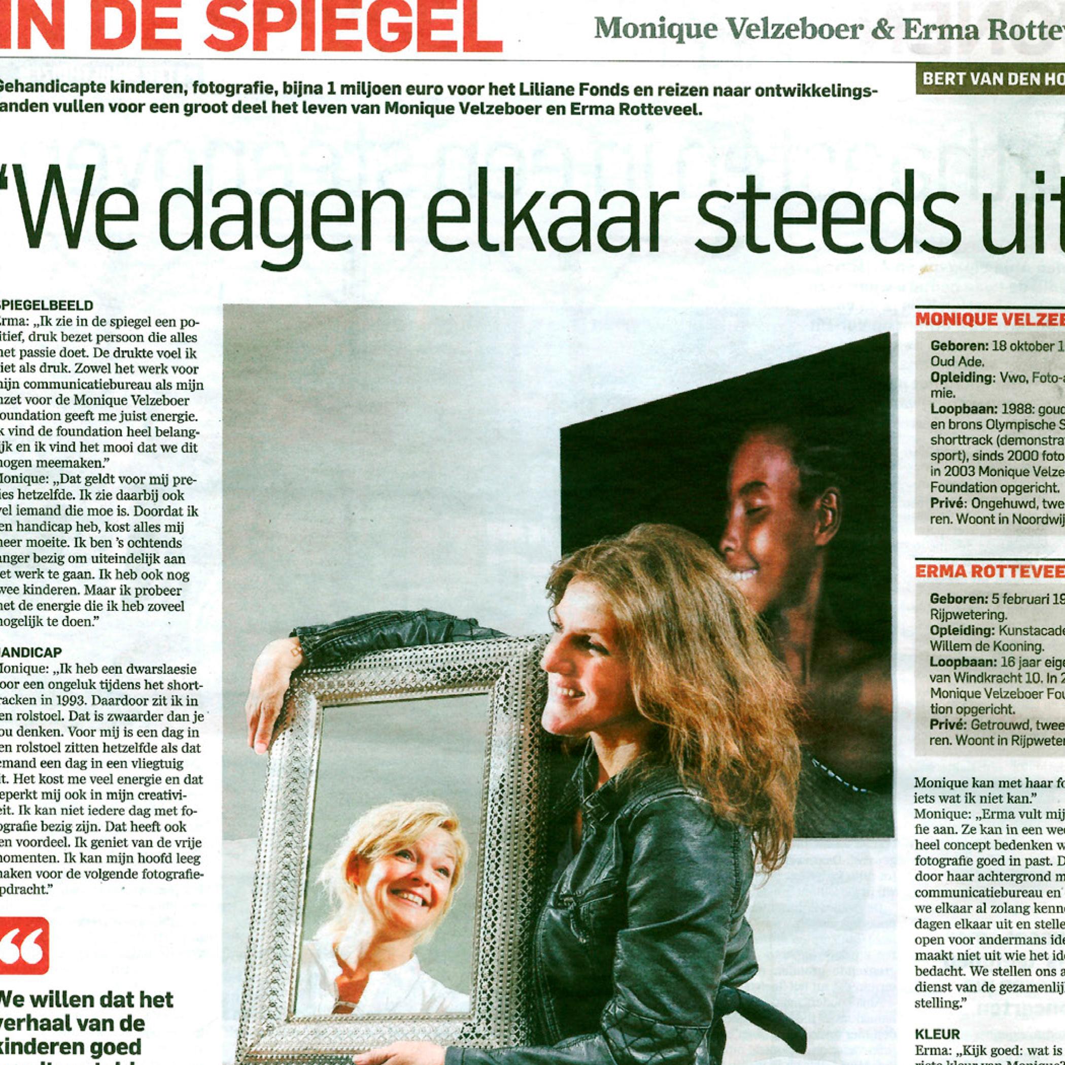 In de spiegel  Algemeen Dagblad  14-05-14
