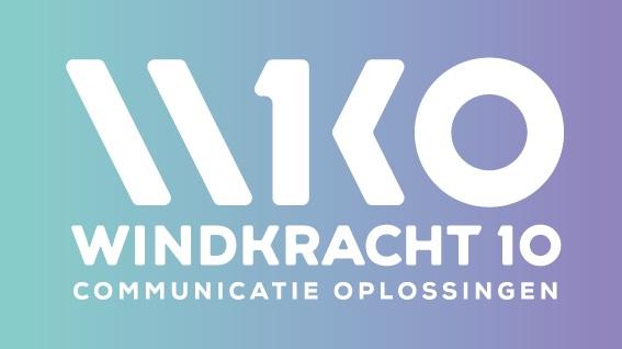 Onlangs heeft Windkracht 10 ook zelf een nieuwe corporate identity ontwikkeld!