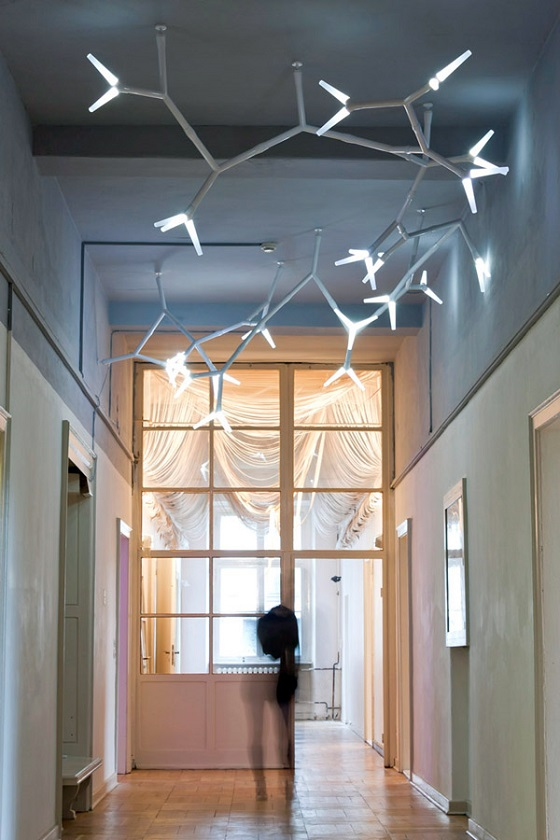 Sparks modular lighting system from Quasar in a all