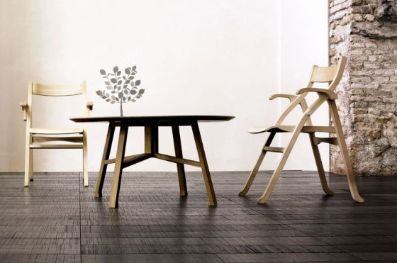 Produzione Privata table chair and tree
