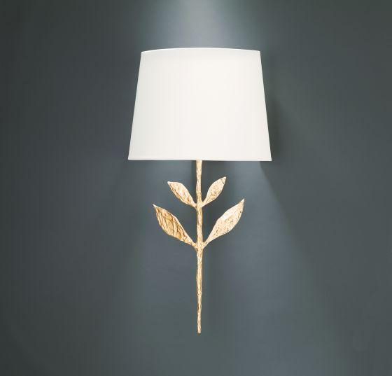 Objet Insolite Grande Silva wall light gold finish