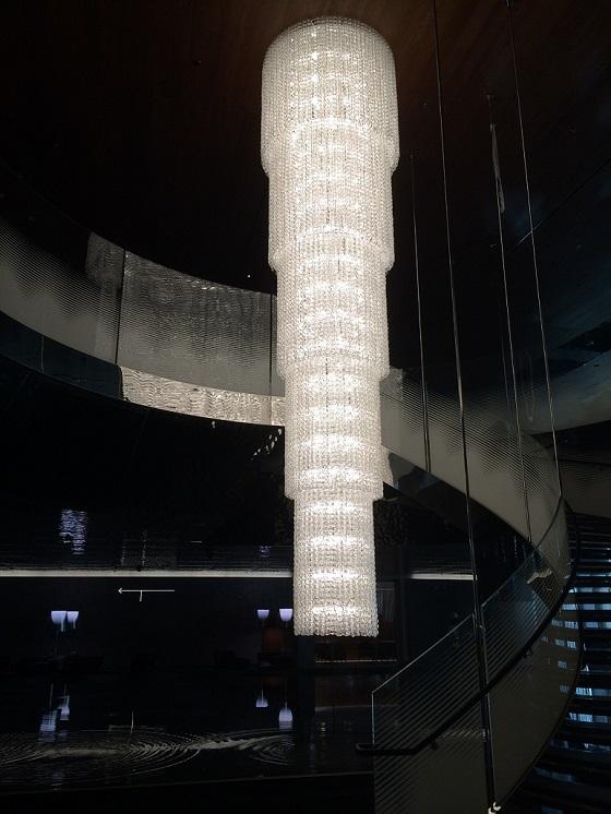 Viastosi Giogali chandelier Doha airport