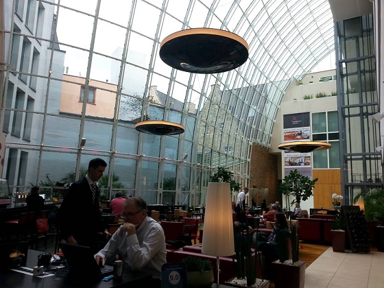 Design by Mai Skybeamer 200s at the Marriott Ghent