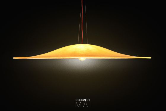 Big Hat pendant light D200cm Design by Mai
