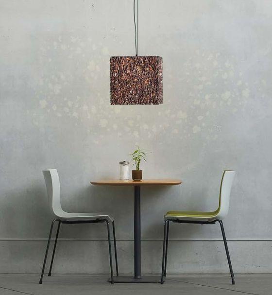 GAluminium foam pendant light Grid from Design by Mai