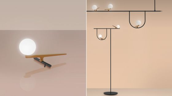 Neri & Hu Yanzi lights for Artemide