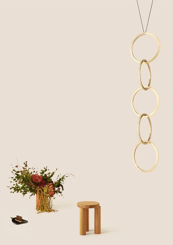 Resident Circus pendant light of interlocking circles