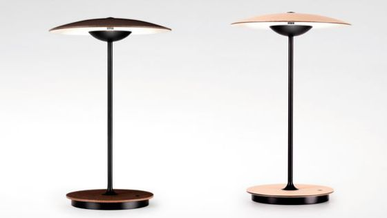 Ginger cordless table light from Marset