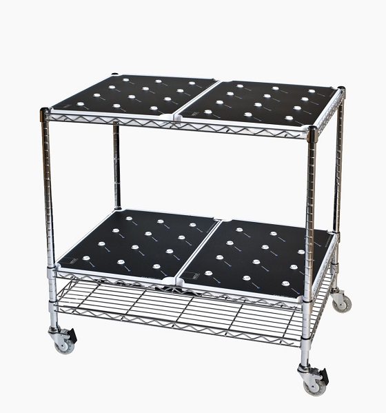 Neoz trolley for cordless lights