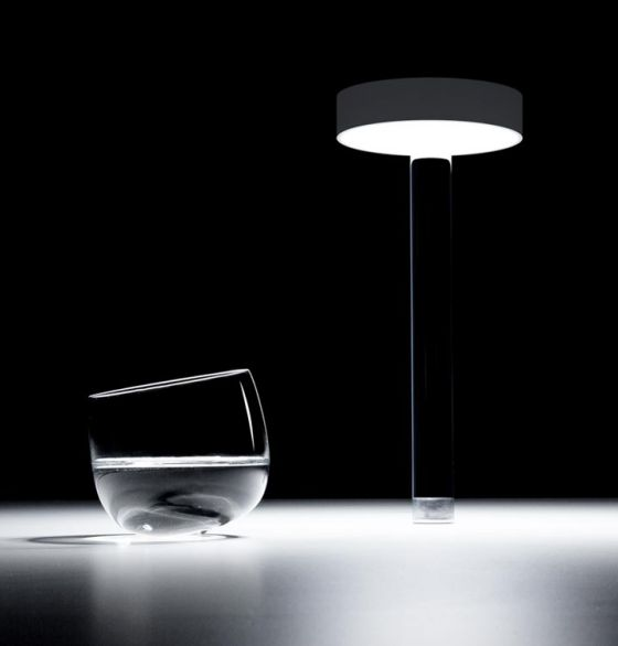 Davide Groppi Tetatet Flûte cordless table light