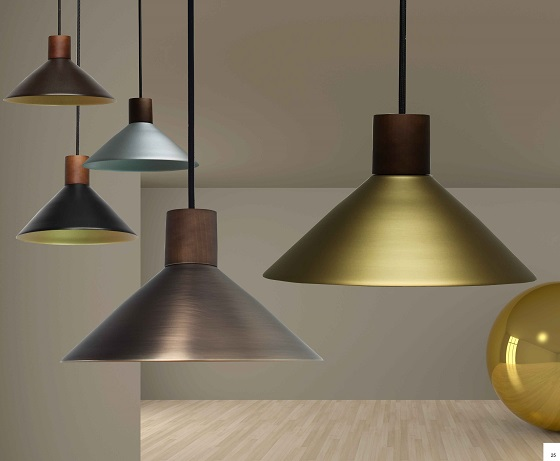 Pendant lights from Trilamp