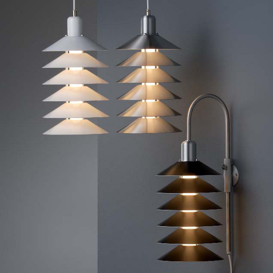 Pandul Tip Top suspension light and applique