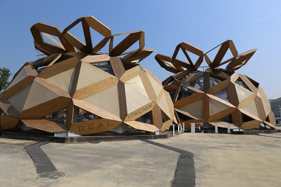 EMBT Copagri dome for expo milano by bendetta Tagliabue