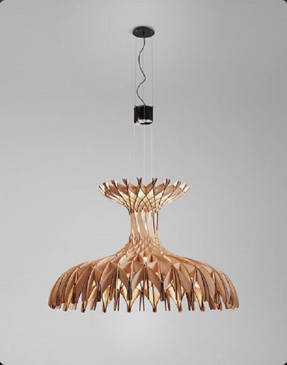 Dome 180 chandelier by Benedetta Tagliabue for Bover