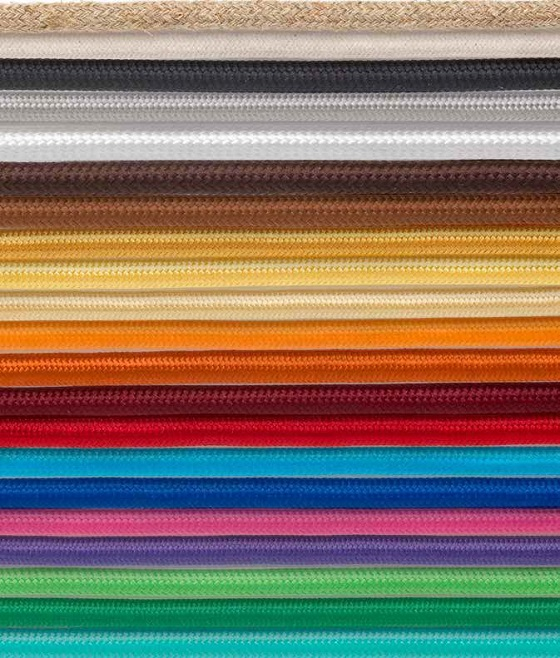 Vetrart fabric-covered cable options