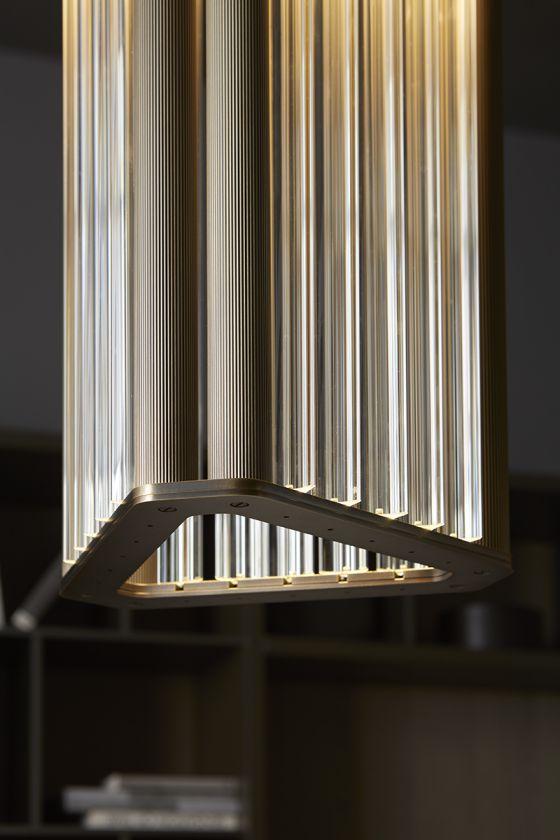 Venice M Numa pendant light detail